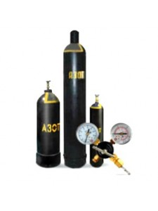 Азот 40 л. (7,5 кг/6,3 м³/150 атм.) ОСЧ 2 сорт (99,996%)