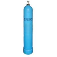 Кислород 40 л. (8,30 кг/6,3 м³/150 атм.) (99,999%