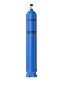Кислород 40л газообразный высокой чистоты марка 3.5  (99,95%)