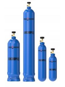 Кислород газообразный особой чистоты 40 литров