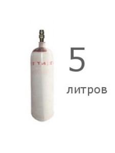 Ацетилен 5л растворенный марки Б, 2 сорт (99,1%)