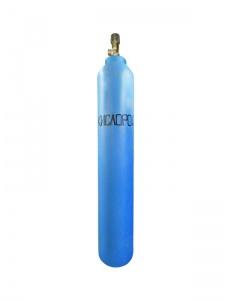 Кислородный баллон 10 л (Оборотный баллон с мембранным клапаном)